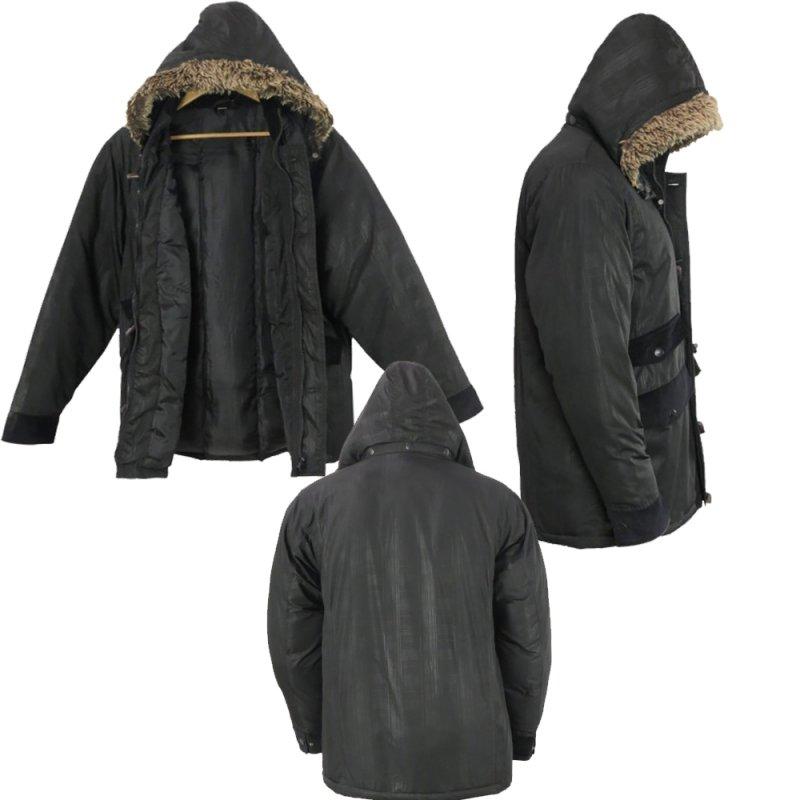 Buy Wholesale Mens Fur Hooded Warm Winter Jacket