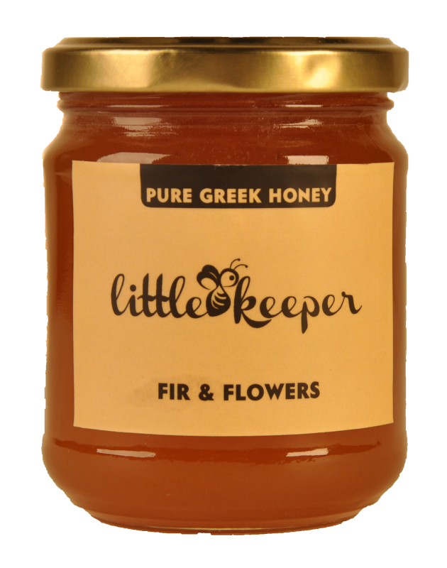 Buy RAW GREEK HONEY FIR & FLOWERS (280 GR NET)