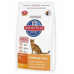 Buy Hill's Science Plan Adult Cat Optimal Care - Chicken 15kg