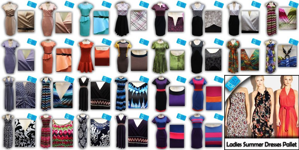 Buy Ladies Summer DRESS Pallet BEST SELLER BS