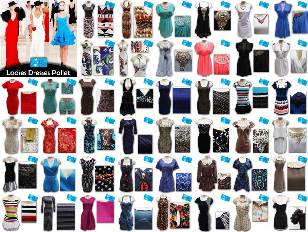 Buy LADIES DRESS PALLET / UK EX CHAIN - LDD1