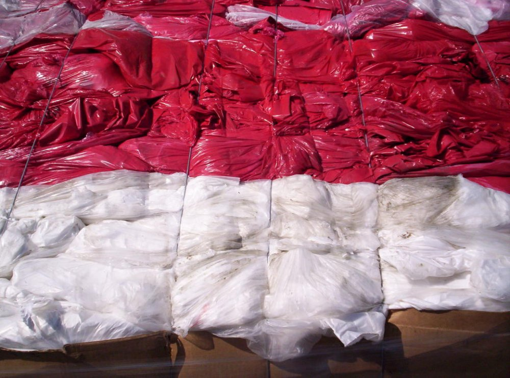 Buy HDPE BALED FILM MIXED COLOR
