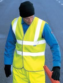 Buy Dickies Hi-Vis Highway Safety Waistcoat