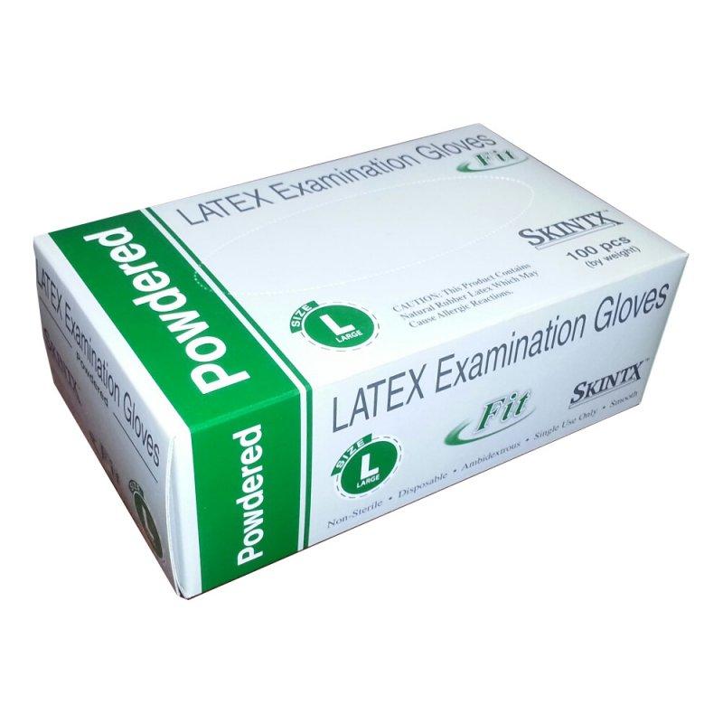 Buy Latex Medical Exam Gloves, Powdered - Box