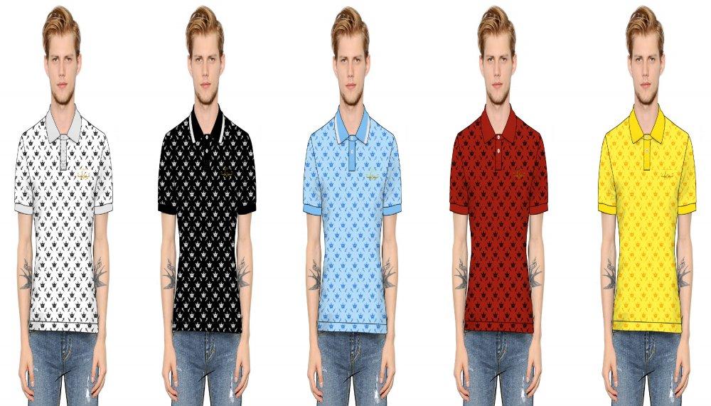 Buy Custom fabric polo