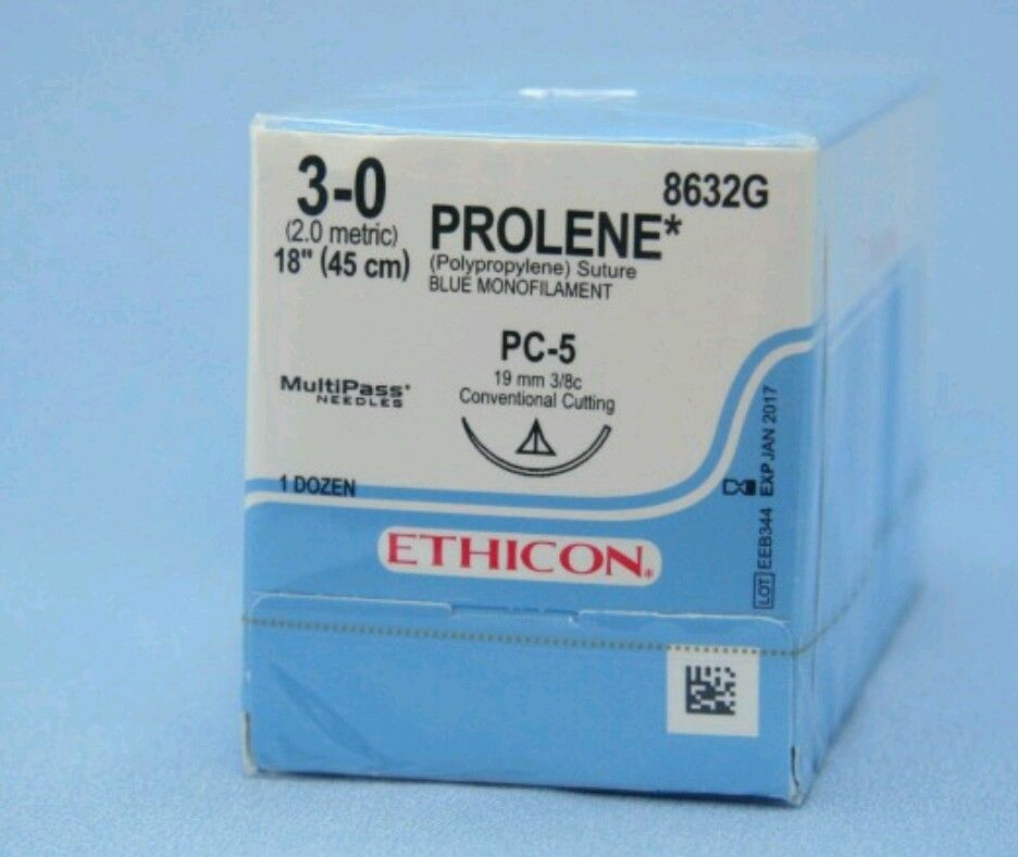 Buy Ethicon Surgical Suture Medical Supplies Prolene