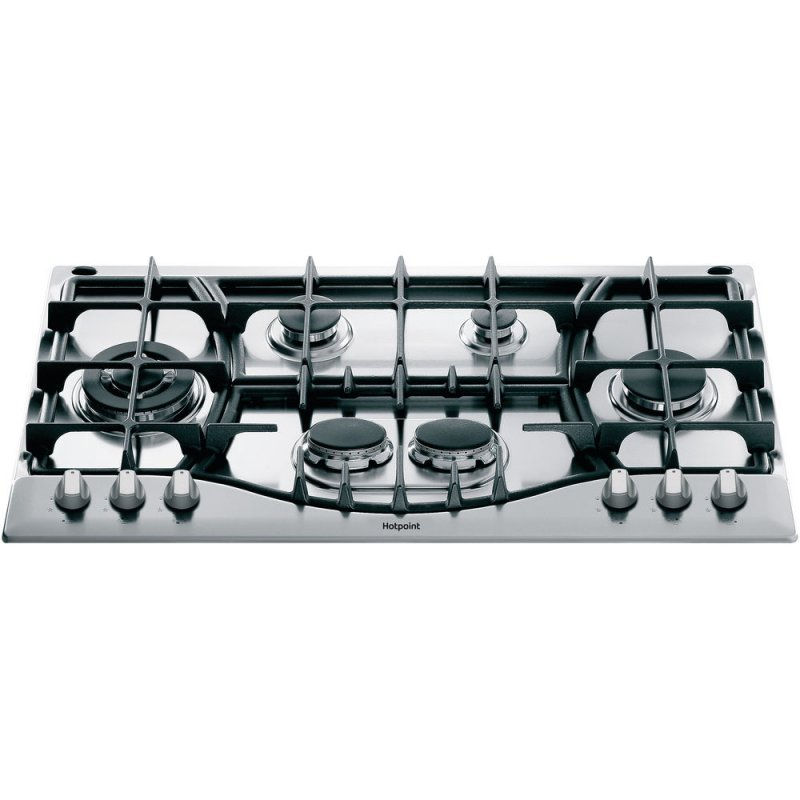 Buy Hotpoint PHC961TS/IX/H 87cm Gas Hob - Stainless Steel