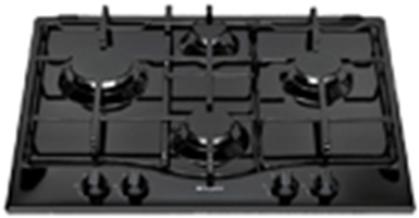 Buy Hotpoint GC640TK 60cm Gas Hob Black