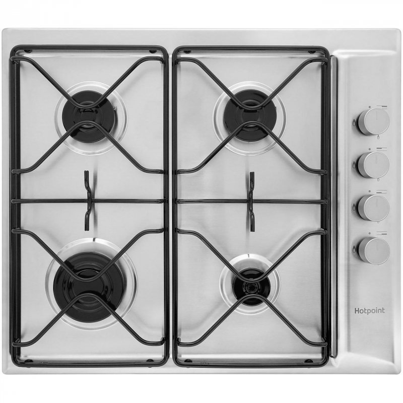 Buy Hotpoint Newstyle PAN642IXH 58cm Gas Hob - Stainless Steel