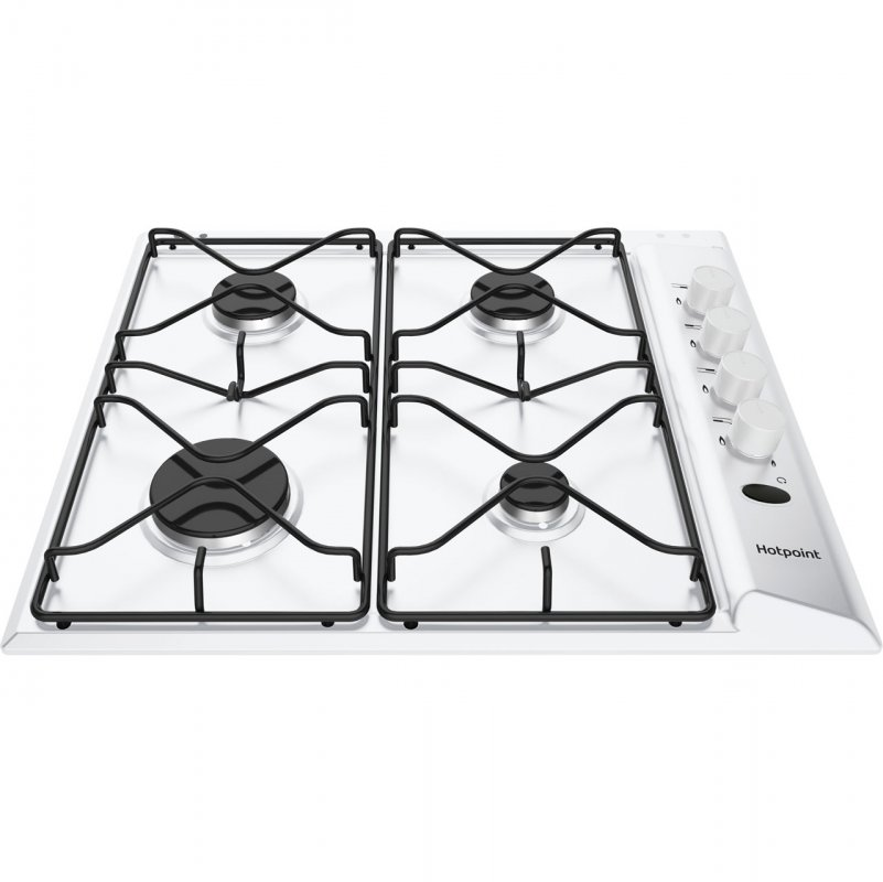 Buy Hotpoint PAS642HWH White gas 60cm hob White