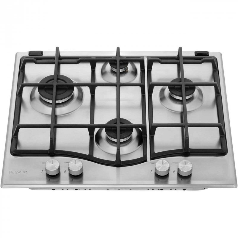 Buy Hotpoint Ultima PCN641IXH 59cm Gas Hob - Stainless Steel