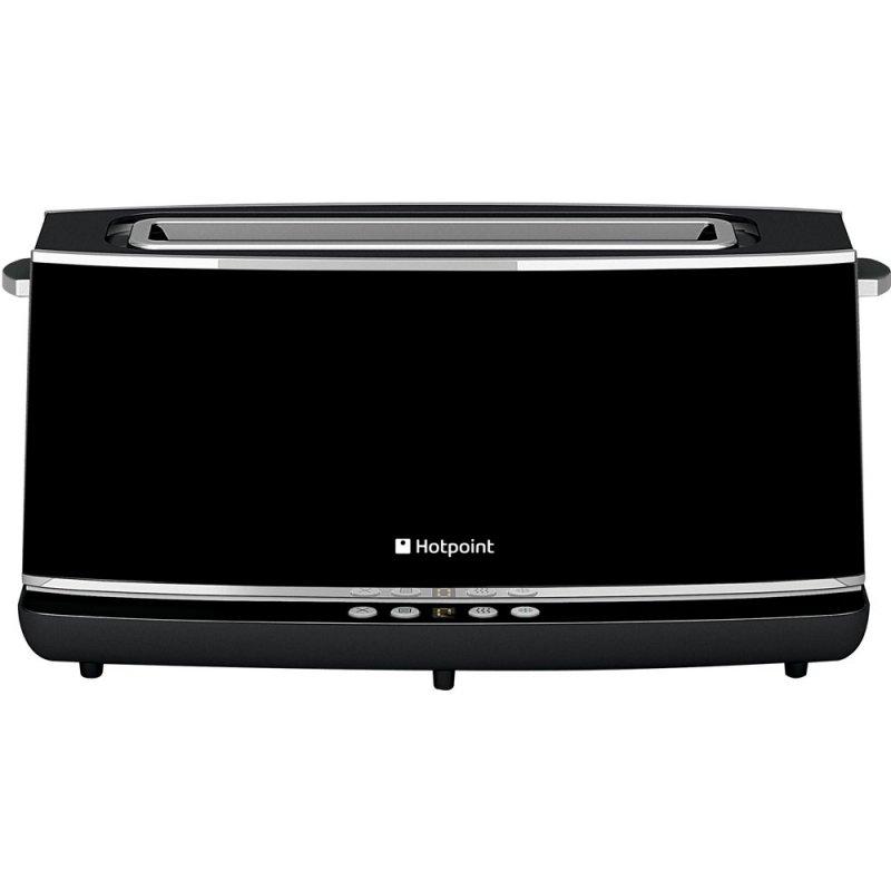 Buy Hotpoint Extra Long Digital TT12EAB0UK 2 Slice Toaster - Black