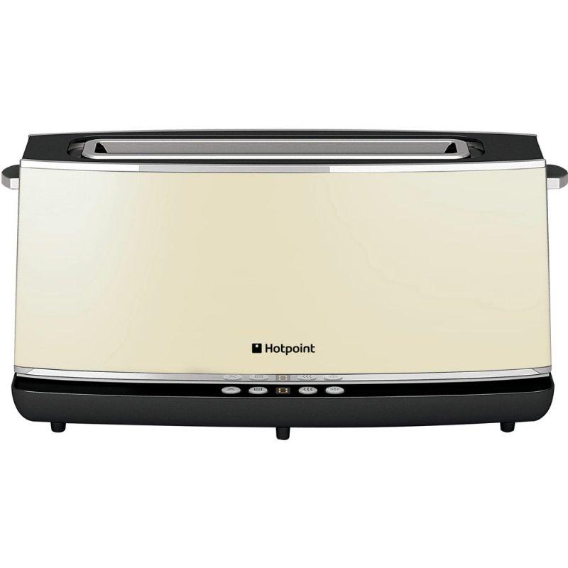 Buy Hotpoint Extra Long Digital TT12EAC0UK 2 Slice Toaster - Cream