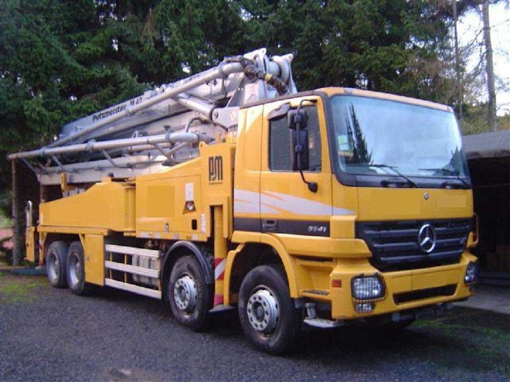 Buy 2005 Mercedes-Benz Actros 3241 B with Putzmeister Pump 42m