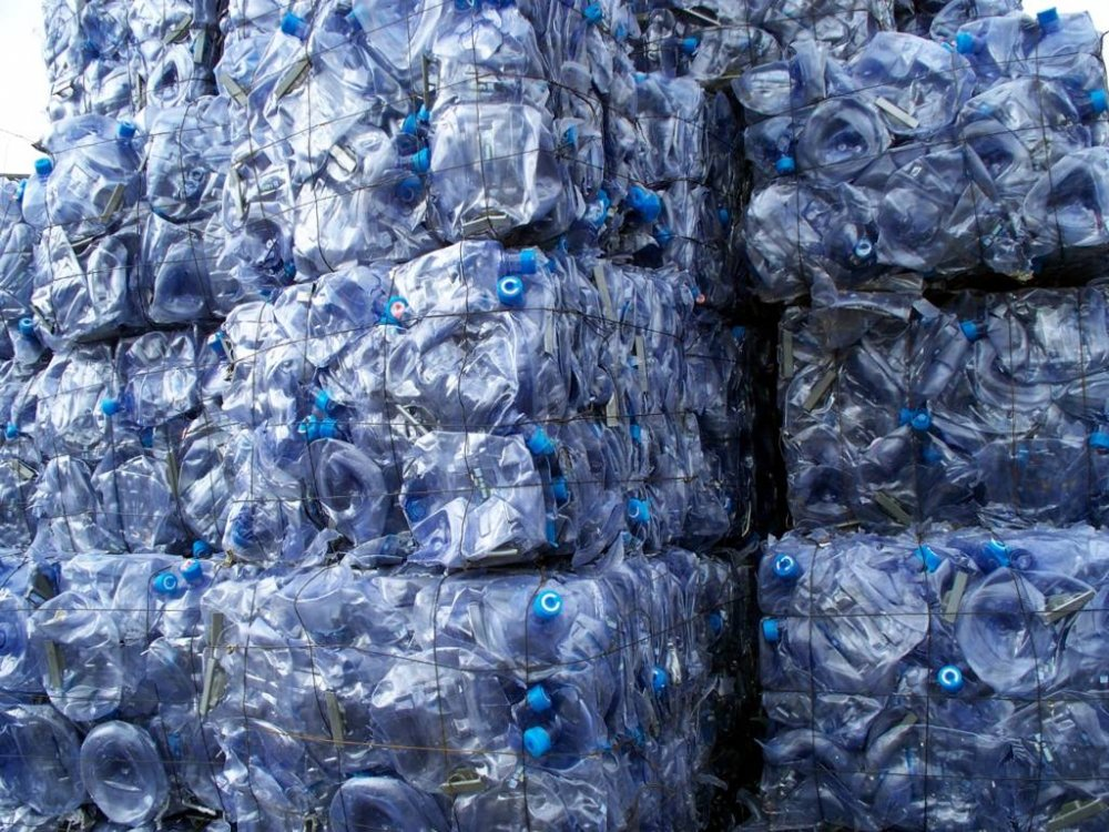 Buy PC Water Bottle Scrap on Bale or Regrind