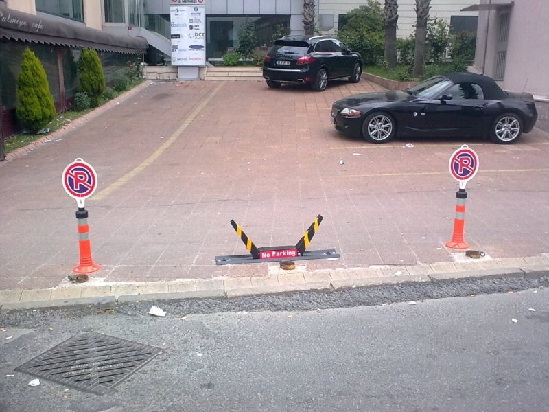 Buy Traffic control products... Next Generation Remote Control Parking Barrier Systems the two models. 1-K1 Barrier (Cordless & Rechargeable Battery) 2-K2 Barrier (Electric 220Volt) Complete A3 mm Steel Material Automatic Parking Barrier is used in all kinds