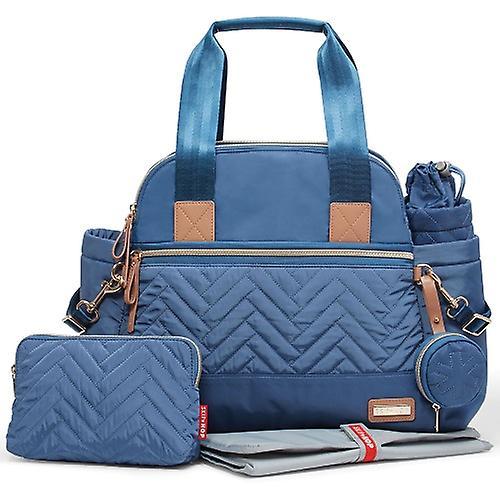 Buy Skip Hop Suite Satchel Large Changing Bag – Dusk Blue