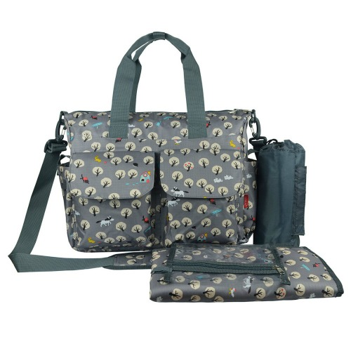 Buy Grey Baby Changing Bag Country life