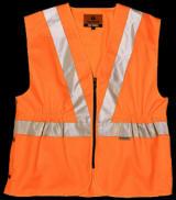 Buy Orange Class 2 Hi Viz Rail Waistcoat