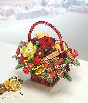 Buy Christmas basket Essence of Christmas