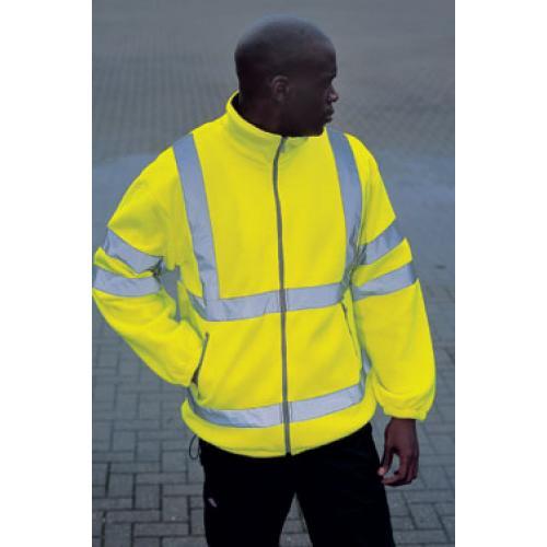 Buy Dickies Hi Viz Lined Fleece Jacket