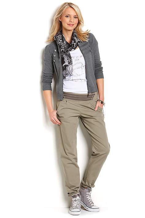 Buy Cotton cardigan with cashmere