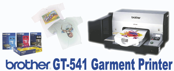Buy Brother GT-541 Digital Inkjet Garment Printer