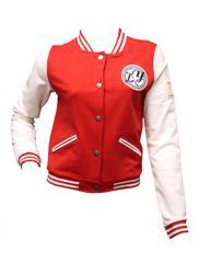 Red Jersey Baseball Jacket