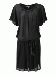 Angel Tunic Dress Black
