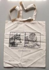 Natural Cotton Bags (Howlett's Zoo)