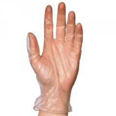 Vinyl Powder Free Clear Disposable Gloves (Box of