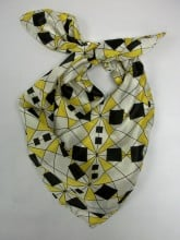 Yellow Prism Scarf