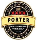 Dark beer ringwood porter