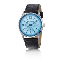 Blue round Dial Watch