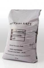 Industrial vacuum salt