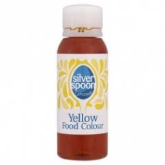 Natural yellow food colour