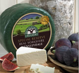 Special reserve Real Yorkshire Wensleydale cheese