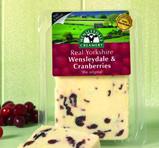Real Yorkshire Wensleydale & Cranberries