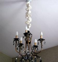 Chandelier chain covers