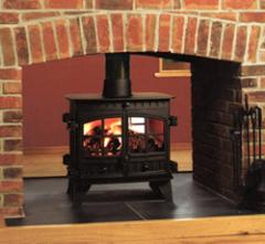 Herald 8-14 Double Sided - Multi Fuel Stove