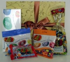 Sweets chewing jelly belly gift hamper box