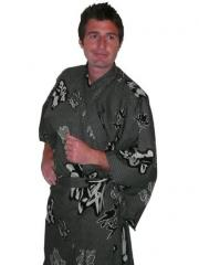 Cotton Satin Kimono