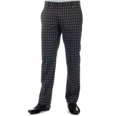 Lagerfeld Black/Grey Check Trousers