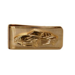 Gold Plated Ferrari Money Clip