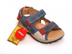 Froddo Triple Velcro Leather Sports Sandal
