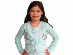 Turquoise Wrap Cardigan