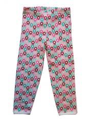 Katvig Pink and Aqua Mini Apple Leggings