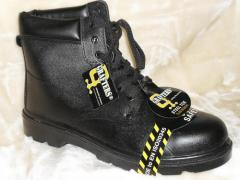 Steel Toe Cap Safety Work Boots