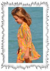 Starblu Girl's Beach Dress - Kaftan