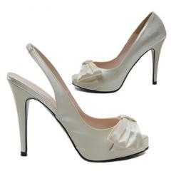 Glamour Satin Open Toe Shoes